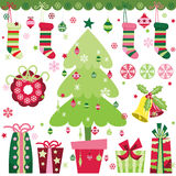 Christmas Design Elements Set Royalty Free Stock Photography