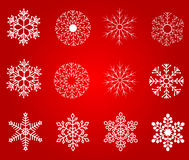 Christmas design elements, vector Stock Images