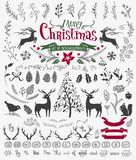 Christmas design elements Stock Photography