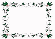 Christmas Design Frame or Border Royalty Free Stock Photos
