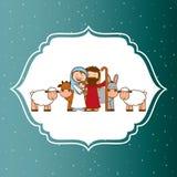 Christmas design. Christmas grafic design , vector illustration Royalty Free Stock Images