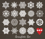 Christmas design icons set. Royalty Free Stock Photography