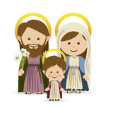 Christmas. Design over white background vector illustration Royalty Free Stock Photos