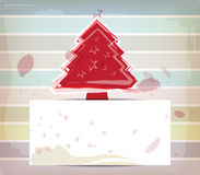 Christmas design and pastel color Royalty Free Stock Photos