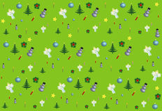 Christmas Design Pattern seamless Stock Photography