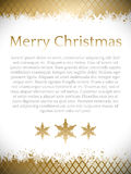 Christmas design with place for your text Royalty Free Stock Photos