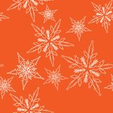 Christmas design, seamless pattern Royalty Free Stock Photo