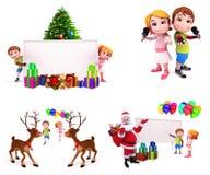 Christmas Design Set Stock Photo