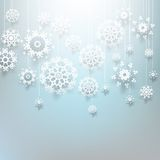 Christmas design with snowflakes. EPS 10 Stock Images