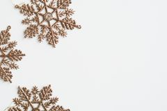 Christmas design space wallpaper isolated Stock Photos