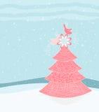 Christmas Design Tree Stock Photography