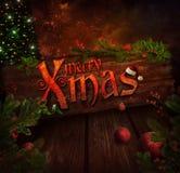 Christmas design - Xmas sign Royalty Free Stock Photography