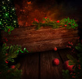 Christmas design - Xmas sign Royalty Free Stock Image