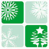 Christmas designs. A selection of christmas designs - additional ai and eps format available on request Royalty Free Stock Image