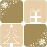 Christmas designs. A selection of christmas designs - additional ai and eps format available on request Stock Image