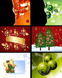 Christmas Designs. Set of Christmas Designs and backgrounds stock illustration