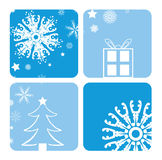 Christmas designs. A selection of christmas designs - additional ai and eps format available on request Stock Photography