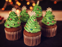 Christmas Dessert Stock Photography