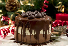 Christmas Dessert Royalty Free Stock Photos