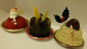Christmas Dessert Royalty Free Stock Images