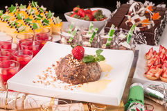 Christmas desserts Stock Photo
