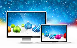 Christmas devices Stock Photography