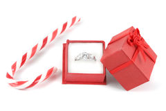 Christmas diamond Stock Photo