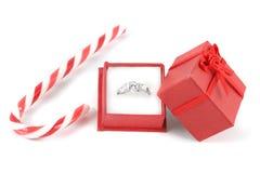Christmas diamond stock photo