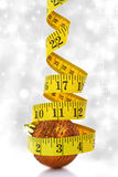 Christmas diet concept Royalty Free Stock Image