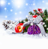 Christmas. Different Christmas decorations that still life Royalty Free Stock Photos