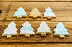 Christmas different form cookies winter selebration background. Christmas different form cookies winter selebration background Royalty Free Stock Photo