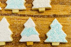 Christmas different form cookies winter selebration background. Christmas different form cookies winter selebration background Royalty Free Stock Image