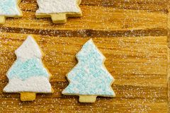 Christmas different form cookies winter selebration background. Christmas different form cookies winter selebration background Royalty Free Stock Images