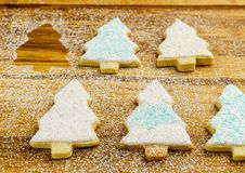 Christmas different form cookies winter selebration background. Christmas different form cookies winter selebration background Stock Photo