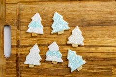 Christmas different form cookies winter selebration background. Christmas different form cookies winter selebration background Stock Images