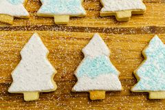 Christmas different form cookies winter selebration background. Christmas different form cookies winter selebration background Royalty Free Stock Photography