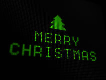 Christmas digital card Stock Photo