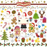 Christmas Digital Scrapbook Royalty Free Stock Photos