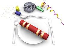 Christmas dinner Royalty Free Stock Image