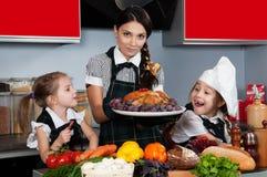 Christmas Dinner Stock Photo