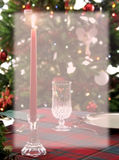 Christmas Dinner Background Stationery. Image of a Christmas dinner table setting with soft focus faded inset to use as background or stationery Royalty Free Stock Photo