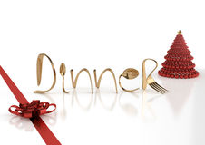 Christmas dinner Stock Photo