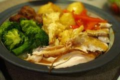Christmas dinner Stock Photography