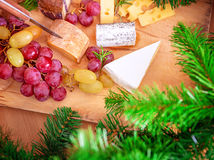 Christmas dinner at home Stock Photography
