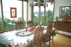 Christmas Dinner Table Royalty Free Stock Photos