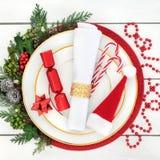 Christmas Dinner Time Stock Photo
