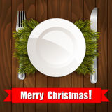 Christmas Dinner Stock Image