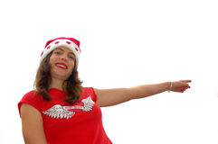 Christmas directions Royalty Free Stock Photography