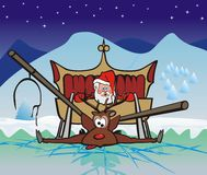 Christmas disaster Royalty Free Stock Photos