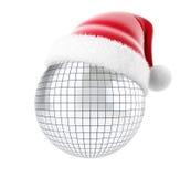 Christmas disco. On a white background Royalty Free Stock Photo